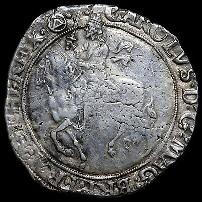 £450 • Buy Charles I, 1625-46. Halfcrown, Mm. Triangle In Circle, 1641-3. Tower Mint.