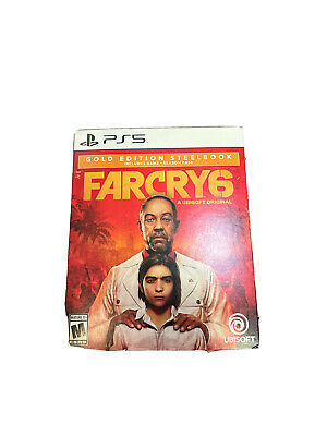 AU131.82 • Buy Brand New Far Cry 6 Gold Edition (Steelbook) For PlayStation 5
