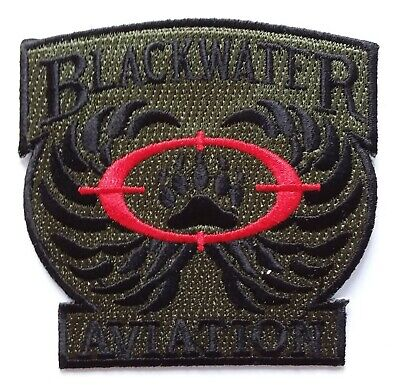 £2.99 • Buy BLACKWATER AVIATION PATCH Embroidered Badge United States Private Security USA