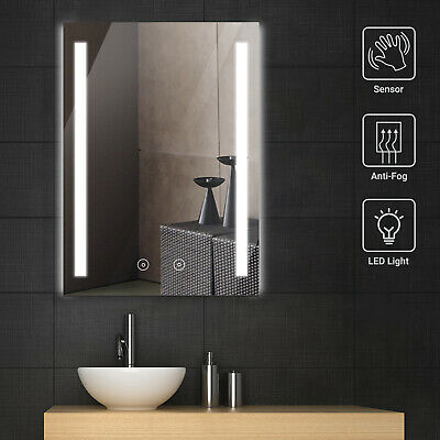 £69.99 • Buy Bathroom Mirror With Shaver Socket Demister LED Illuminated Light Touch Control
