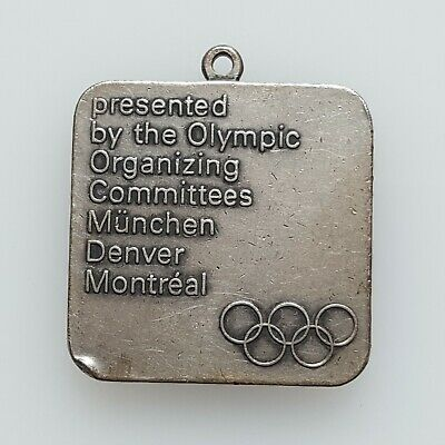 £90.59 • Buy XI Winter Olympic Games 1972 Sapporo Silver Medal München Denver Montreal, ಇ288