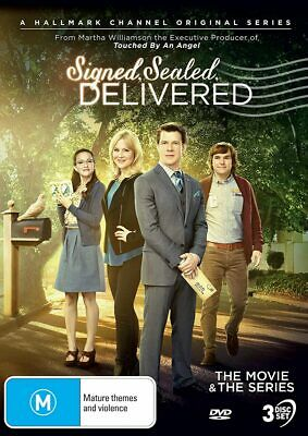 AU53.95 • Buy Signed, Sealed And Delivered: Season 1 + The Movie DVD   Region 4