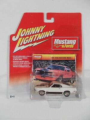 AU2.86 • Buy Johnny Lightning 1/64 Mustang & Fords 1970 Ford Mustang Mach 1