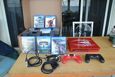 AU545.49 • Buy Sony PlayStation 4 Pro 1TB Spider Man Red Limited Edition PS4 Console