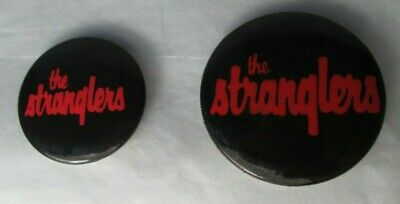 £9.99 • Buy The Stranglers 2 X Vintage Early 1980s US & UK Badges Pins Buttons Punk