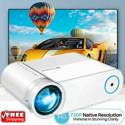 AU109.99 • Buy Vankyo LED Projector HD 1080P 200  Home Theater Video HDMI USB For IOS/Android