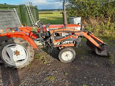 £4350 • Buy Yanmar Compact Tractor And Loader