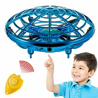 AU35.55 • Buy Hand Operated Mini Toy Drone For Kids Upgraded UFO Flying Ball Toy With LEDs ...