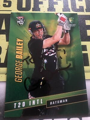 AU0.99 • Buy George Bailey Signed Tap N Play 2015/16 T20 Card