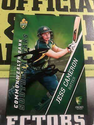 AU0.99 • Buy Jess Cameron Signed Tap N Play 2015/16 Southern Stars Card