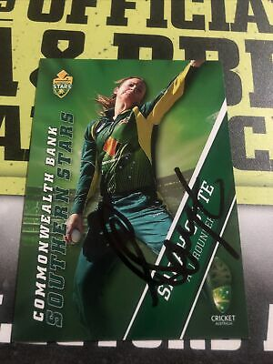 AU0.99 • Buy Sarah Coyte Signed Tap N Play 2015/16 Southern Stars Card