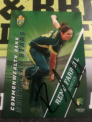 AU0.99 • Buy Rene Farrell Signed Tap N Play 2015/16 Southern Stars Card