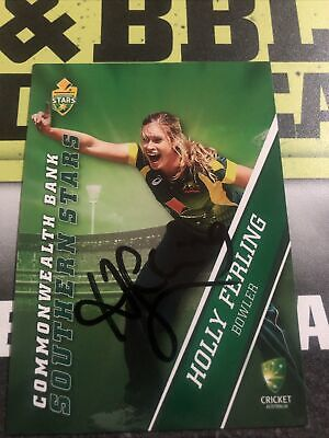 AU0.99 • Buy Holly Ferling Signed Tap N Play 2015/16 Southern Stars Card