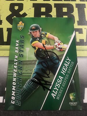 AU0.99 • Buy Alyssa Healy Signed Tap N Play 2015/16 Southern Stars Card