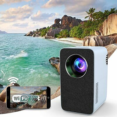 AU378.59 • Buy 2021 NEW AU Native 1080P Smart Projector WiFi Airplay Blue-tooth Speaker LED HD