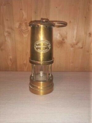 £25 • Buy Antique Miners Lamp Engraved Stamp Of Ashington Colliery