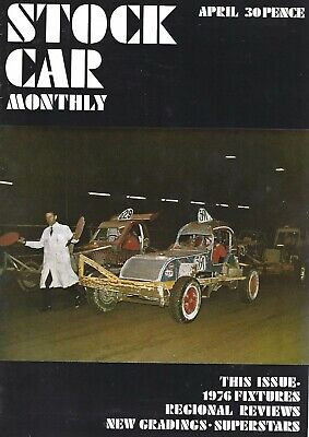 £0.99 • Buy Stock Car Monthly April 1976