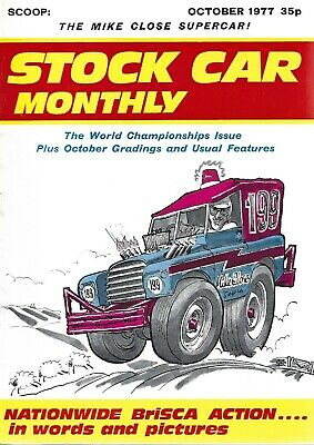 £0.99 • Buy Stock Car Monthly October 1977