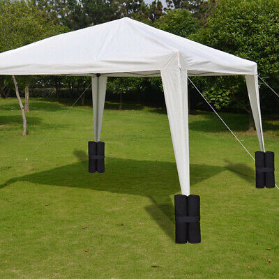 AU43.49 • Buy 4 Pack Garden Gazebo Foot Leg Feet Weights Sand Bag For Marquee Party Tent Set_