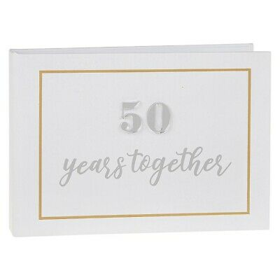 £8.99 • Buy 50th Golden Wedding Anniversary Photo Album Holds 24 Pictures