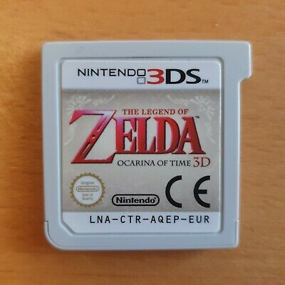 AU9.27 • Buy The Legend Of Zelda: Ocarina Of Time 3D 3DS Game (Unboxed)