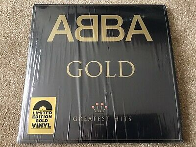 £12.50 • Buy Abba Gold Greatest Hits Limited Edition Gold Vinyl LP Record