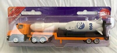 £19.99 • Buy Siku Super Serie 1614 Low Loader Lorry With ESA Rocket New Diecast Model Toy