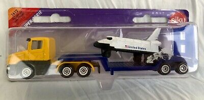 £21.99 • Buy Siku Super Serie 1612 Low Loader Lorry With Space Shuttle Diecast New Vintage