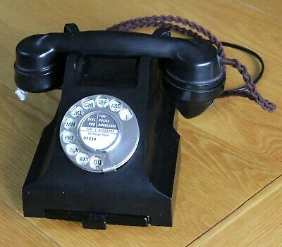 £100 • Buy Vintage Bakelite Gpo 332f Telephone With Drawer – Excellent