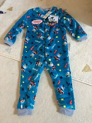 £6 • Buy Brand New Thomas The Tank Engine One Piece All In One Pyjamas Age 2-3 From Boots