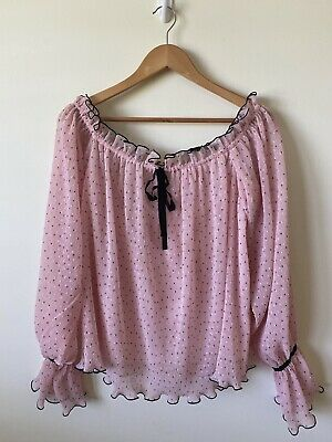AU100 • Buy Alice McCall Dot Off The Shoulder Top