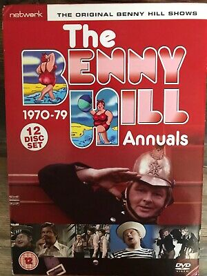 £46.75 • Buy THE BENNY HILL ANNUALS 1970-79 - 12 Disc Set - Region 2 DVD - British TV Comedy