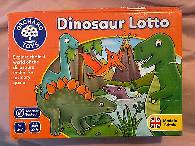 £3.90 • Buy Orchard Toys Games Puzzle. Education Game Dinosaur Lotto