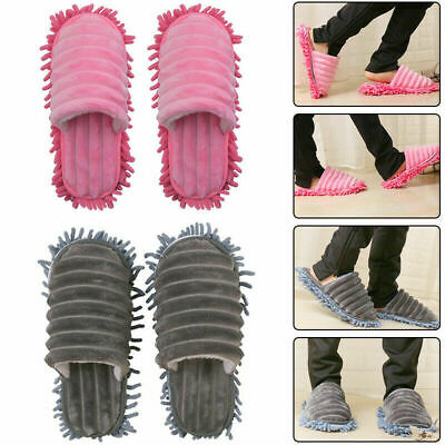 £7.99 • Buy Durable Microfibre Shoe Sock Mop Slippers Remover Cleaning Floor Polishers Home