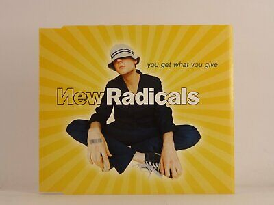 £2.46 • Buy NEW RADICALS YOU GET WHAT YOU GIVE (D58) 3 Track CD Single Picture Sleeve MCA