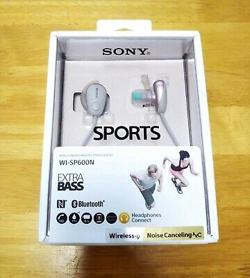 AU301.50 • Buy Sony WI-SP600N EXTRA BASS Bluetooth Noise Canceling Wireless Headphones Pink NEW