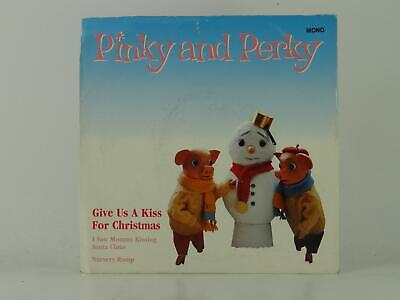 £3.41 • Buy PINKY AND PERKY GIVE US A KISS FOR CHRISTMAS (41) 3 Track 7  Single Picture Slee