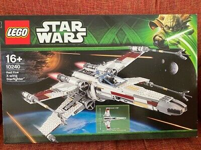 £327.99 • Buy ~~ Lego Star Wars 10240 ~~ UCS RED FIVE X-WING STARFIGHTER ~~ New Sealed