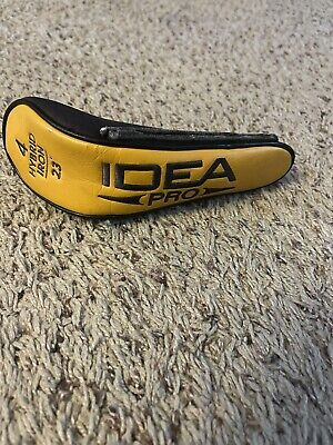 AU13.47 • Buy Adams IDEA Pro 4 Hybrid Iron 23* Headcover Pre Owned Decent Condition Utility