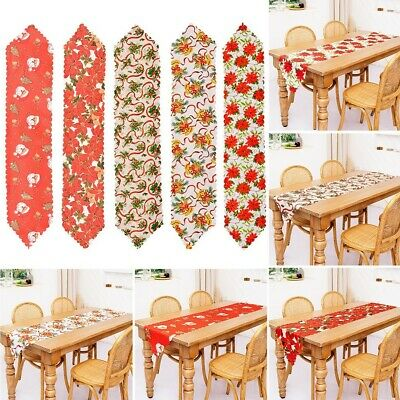 AU11.05 • Buy Table Runner Christmas Decorations Dining Tables Table Runners Brand New