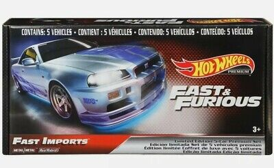 AU50 • Buy Hot Wheels Factory Sealed NEW Fast And Furious  FAST IMPORTS  5 Car Boxed Set