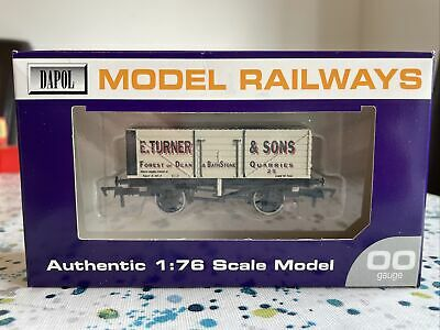 £10 • Buy Dapol B587 7-plank Open Coal Wagon  E.Turner & Sons  Excellent Boxed Condition