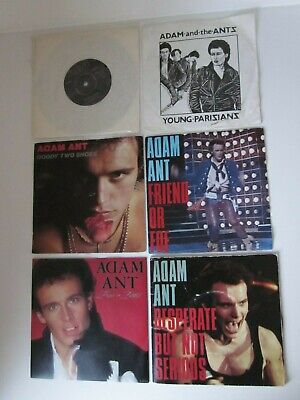 £5 • Buy Adam Ant Bow Wow Wow 80's Synth Pop New Wave Punk 7  Vinyl Music Records Bundle