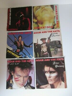 £5 • Buy Adam And The Ant 80's Synth Pop New Wave Punk 7  Vinyl Music Records Bundle