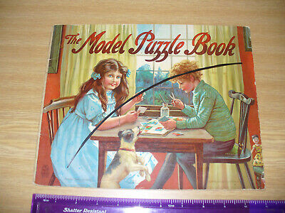 £24.99 • Buy Antique - Ernest Nister - The Model Puzzle Book - Incl Farm Yard, Cats, Fairies
