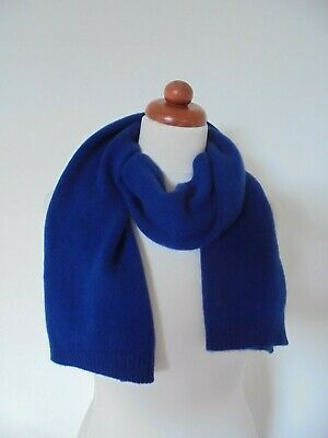 £12.50 • Buy John Lewis - A Beautiful Royal Blue Pure Cashmere Scarf