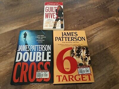 AU12.80 • Buy Lot Of 3 James Patterson Books Free Shipping