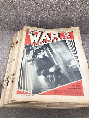 £15 • Buy The War Illustrated Trated Magazine WW2 X28