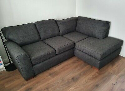 £500 • Buy Next Michigan Sofa - Right Hand Chaise - Charcoal
