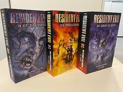 AU310.17 • Buy Resident Evil Sammelband 1-3 Romane SEHR GUT S.D. Perry Sehr Selten